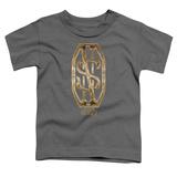 Toddler: Fantastic Beasts- Scamander Golden Monogram T-shirts