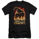 Kong: Skull Island- Out Of The Fire Slim Fit T-Shirt