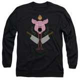 Long Sleeve: American Horror Story- Piggy Insignia T-shirts