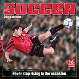 Soccer  - 2018 Calendar Kalenterit
