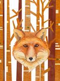 Fox Animal Wild Mammal 2 Prints by  Grab My Art