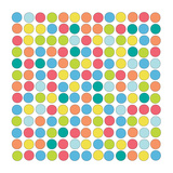 Retro Dots Posters af Jan Weiss