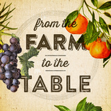 Farm To Table Set Prints by Dallas Drotz