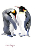Emperor Penguins Prints by Suren Nersisyan