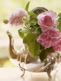 Shabby Roses Roses Flower Floral Vintage 3 Kunstdrucke von  Grab My Art