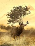 Fantasy Deer Animal Posters by  Wonderful Dream