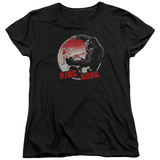 Womens: King Kong- Beauty Vs. The Beast Pin T-Shirt