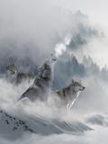 Fantasy Wolf Plakater af  Wonderful Dream