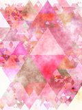 Triangles Abstract Pattern 16 Posters by  Grab My Art