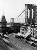 Nyc Brooklyn Bridge East River Prints by HA Dunne