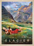 Glacier Poster by  Anderson Design Group