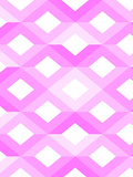 Pink Geometric Style Print by  Wonderful Dream