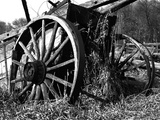 Wooden Wagon Prints by Mark Polege