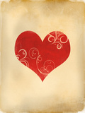 Playing Card Hearts Posters by  Indigo Sage Design