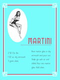 Cocktail Martini Posters by  Indigo Sage Design