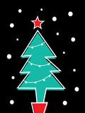 Christmas Tree Print Posters by Ashlee Rae