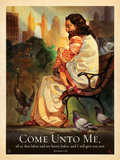 Jesus Come Unto Me Prints by  Anderson Design Group