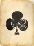 Playing Card Clubs Art by  Indigo Sage Design