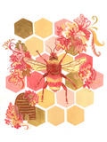 Bumblebee One Fine Day Poster by Cara Kozik