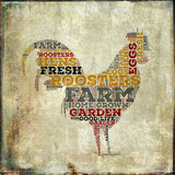 Roosters Prints by Brandi Fitzgerald