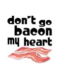 Kitchen Bacon Poster by  Indigo Sage Design