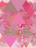 Triangles Abstract Pattern 13 Art by  Grab My Art