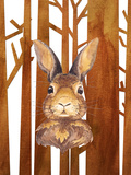 Rabbit In Forest Animal 2 Poster by  Grab My Art