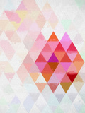 Triangles Abstract Pattern 10 Art by  Grab My Art
