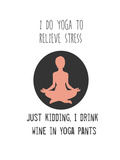 Yoga Posters by Jan Weiss