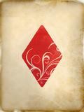 Playing Card Diamonds Art by  Indigo Sage Design