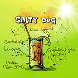 Salty Dog Cocktail Prints by  Wonderful Dream