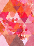 Triangles Abstract Pattern 23 Posters by  Grab My Art