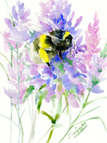 Bumblebee Flowers Prints by Suren Nersisyan