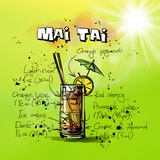 Mai Tai Posters by  Wonderful Dream
