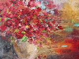 Roses In A Vase Affiches par  David Lloyd Glover