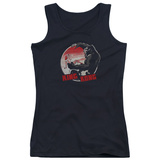 Juniors Tank Top: King Kong- Beauty Vs. The Beast Pin Womens Tank Tops