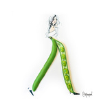 Pea Pod Pants Posters by Meredith Wing