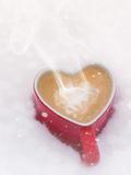 Winter Christmas Love Mug Posters by  Grab My Art