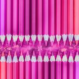 Pink Pencils - Square Prints by  Lebens Art