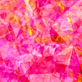 Triangles Abstract Pattern - Square 27 Prints by  Grab My Art