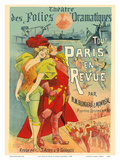All Paris in the Revue - Theatre des Folies Dramatiques - by M.M Blondeau & Monréal Prints by Alfred Choubrac