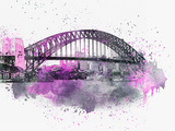 Sydney Harbor Bridge 3 Prints by  Lebens Art