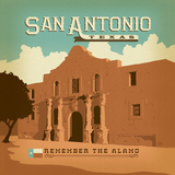 Sanantonio Prints by  Anderson Design Group