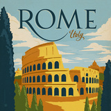 Rome Prints by  Anderson Design Group