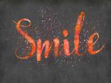 Smile Print by  Lebens Art