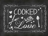 Cooked With Love 2 Print by  Lebens Art
