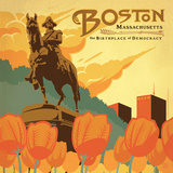 Boston Square Art by  Anderson Design Group