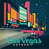 Lasvegas Square Prints by  Anderson Design Group