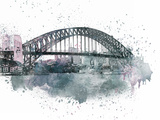 Sydney Harbor Bridge 2 Prints by  Lebens Art