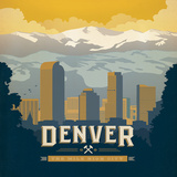 Denver Posters by  Anderson Design Group